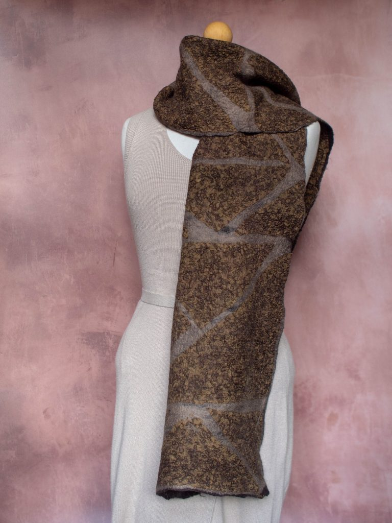 Nuno-Felted Scarf by Studio Nocta